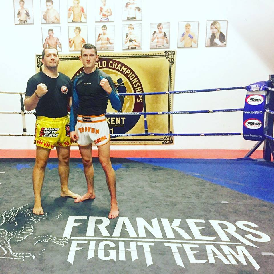 "Juri ""The Brain"" Kehl training mit Frank Schneider"